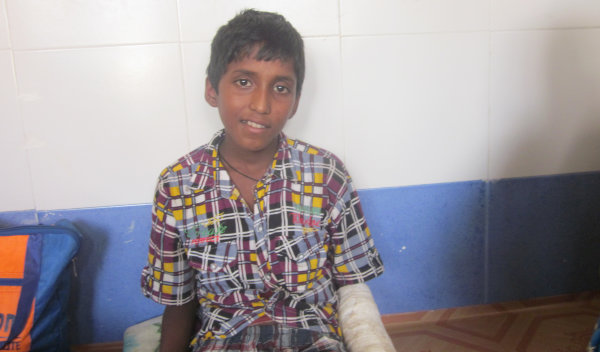 Photo of Himal post-operation