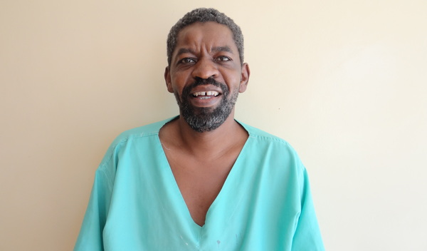 Photo of Godfrey post-operation