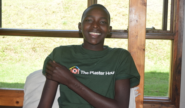 Photo of Isaya post-operation