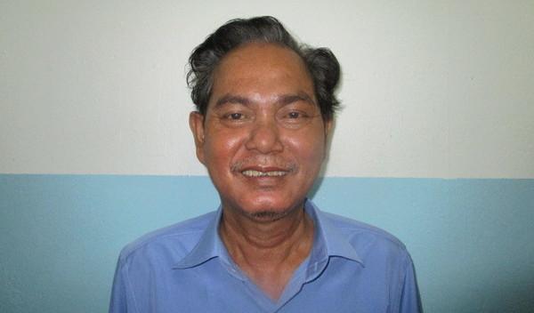 Photo of Sokhun post-operation