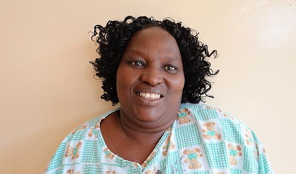 Photo of Mary post-operation