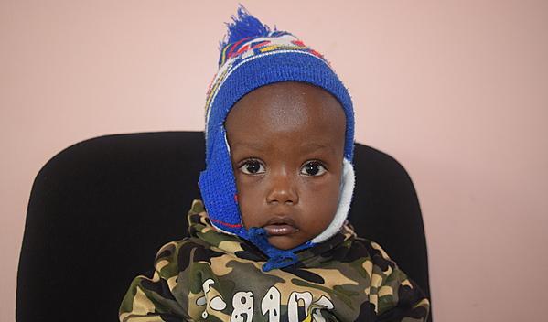 Photo of Erick post-operation