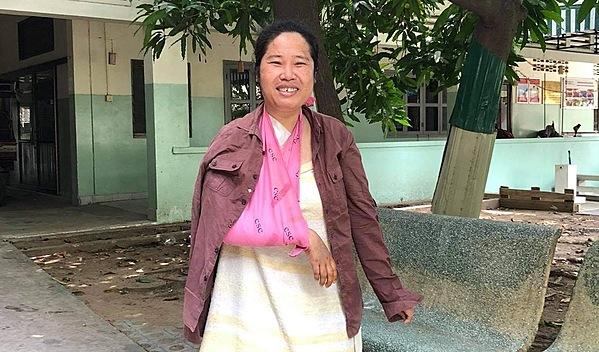 Photo of Sok Lim post-operation