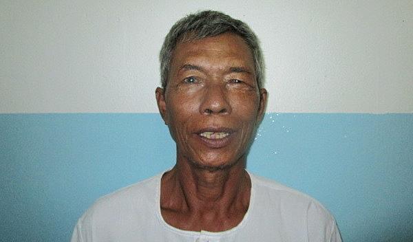 Photo of Thoeun post-operation