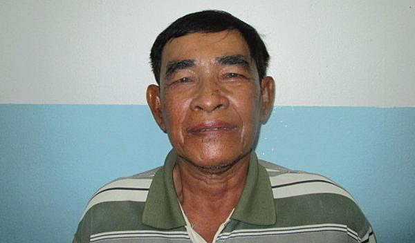 Photo of Chantha post-operation