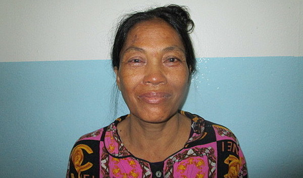 Photo of Saly post-operation