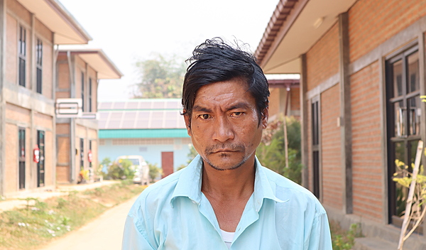 Photo of Htun post-operation