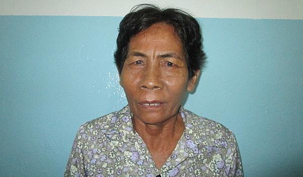 Photo of Seak Veng post-operation