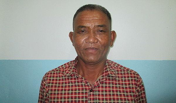 Photo of Chamroeun post-operation