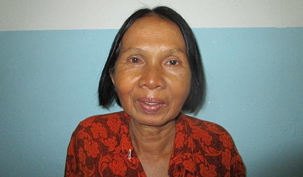 Photo of Sokhom post-operation