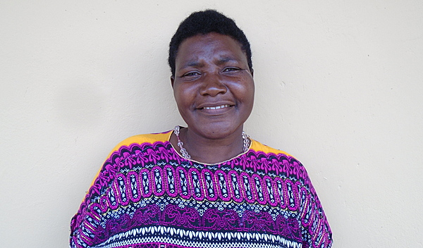 Photo of Tukwasibwe post-operation