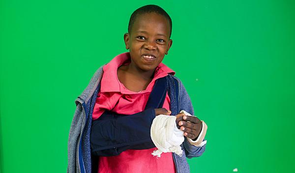 Photo of Mwanzia post-operation