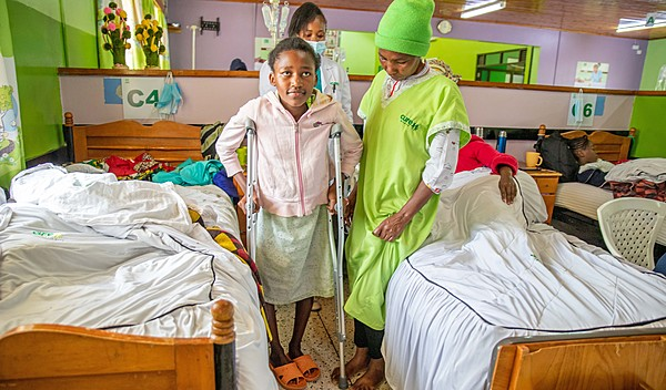 Photo of Jecinta post-operation