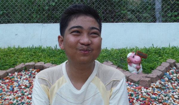 Photo of Aung Kyaw post-operation