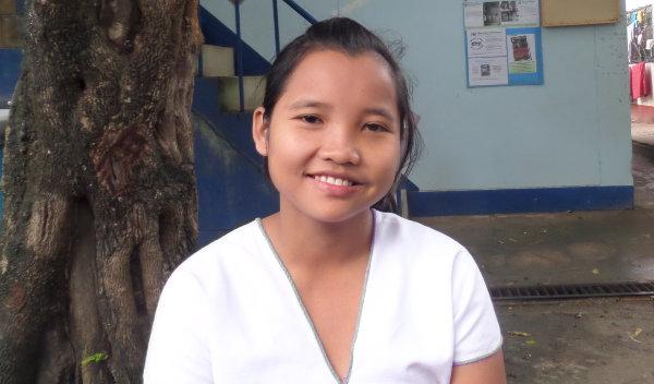 Photo of Ma Thu post-operation